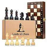 ajedrez portatil madera