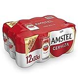 Amstel Cerveza, Pack de 12 x 33cl