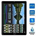 【IVSO】オリジナルApple iPad Pro 保護フィルム, Apple iPad Pro液晶保護フィルム 反射低減タイプ 光沢表面仕様 画面保護&指紋防止シート 超極細繊維クリーナークロス付き- Apple iPad Pro専用 液晶保護フィルム(2 枚パック)