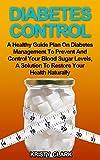 Bargain eBook - Diabetes Control
