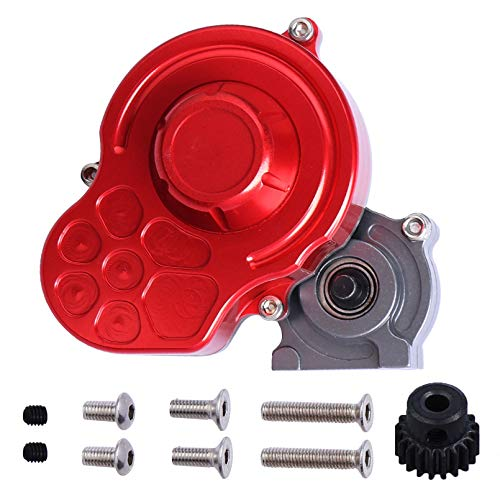RC Full Assembled Transmission Gearbox Metal Center Case w/Gear Set for 1/10 Axial SCX10 SCX10 ii 90047 Wraith Crawler Truck Upgrades