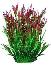 Haibinsuo Tropical Simulation Plants, Water Grass Simulation Accessories Plastic Artificial Aquarium Fish Plant for Decoration