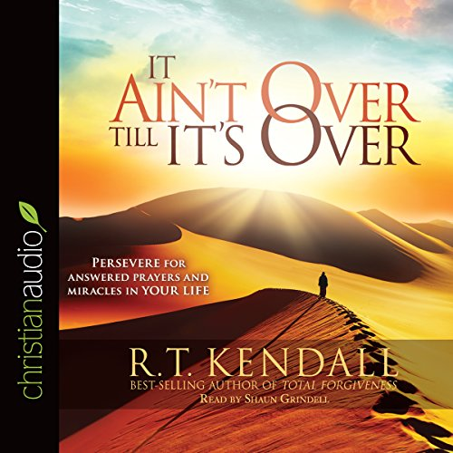 It Ain't over till It's over audiobook cover art
