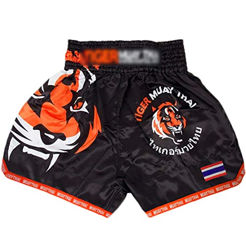 Mikelabo Muay Thai Fight Shorts, MMABoxeo Shorts BoxeoPeto Entrenamiento BoxeoHombre/Mujer MMAEntrenamiento calzónGrappling...