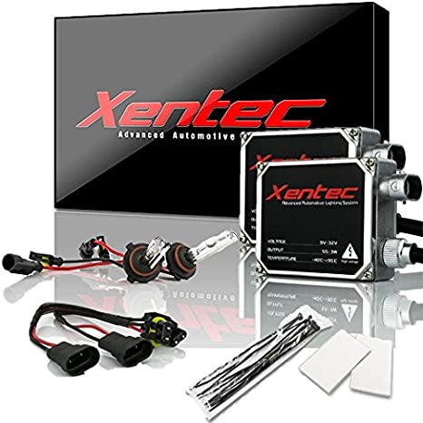 XENTEC 55W Standard Size Ballasts x 2 bundle with 2 x Xenon Bulb 9006 10000K offroad HB4, Brillant Blue