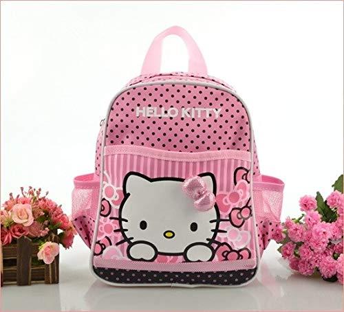 Bequeme Schultasche für Mädchen, Hello Kitty, tragbar, wasserdicht, für Kinder rose
