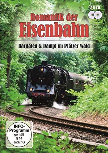 Romantik der Eisenbahn - Raritäten & Dampf im Pfälzer Wald [2 DVDs]