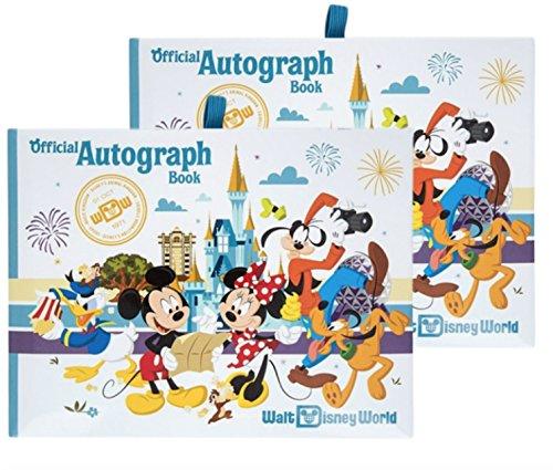 Walt Disney World Four Parks Official Autograph Book - Set of 2 Books