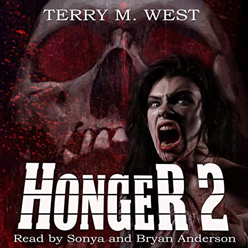Honger 2 audiobook cover art