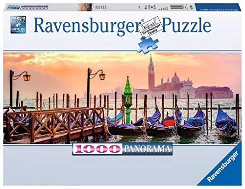 Ravensburger - 15082 Gondole a Venezia, Puzzle 1000 Pezzi, Collezione Panorama, Puzzle per Adulti, multicolore