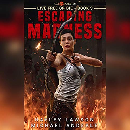 Escaping Madness audiobook cover art