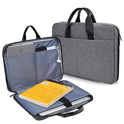 CaseBuy 15.6 inch Waterpoof Laptop Case for HP ENVY X360/Pavilion 15/ProBook/EliteBook 15.6, Acer Aspire 5 Slim/Nitro 5/Aspire 15/Chromebook 15, Lenovo Ideapad L340, 15.6 Protective Notebook Bag