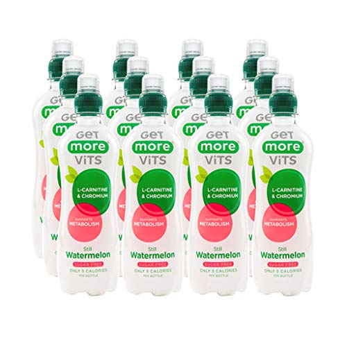 Get More L-Carnitine Sport Drink Watermelon 500ml (Pack of 12)