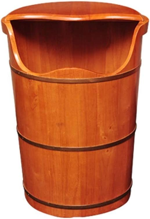 NCHEOI Pedicure Foot Bath Barrel Basin Super beauty product restock quality security top Wood Covered F Solid