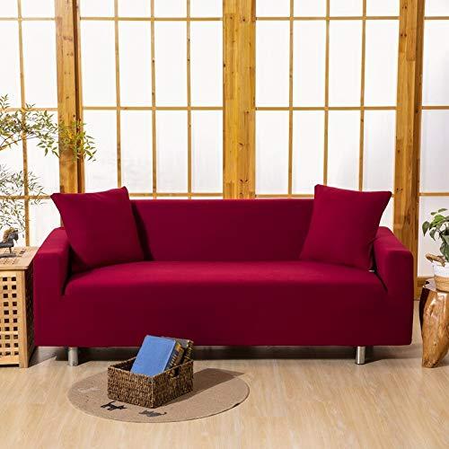 WXQY Funda de sofá geométrica para Sala de Estar Funda de sofá elástica elástica Antideslizante Totalmente Envuelta a Prueba de Polvo sofá Toalla Funda de sofá A14 1 Plaza