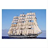 Qlldwxu 520 Pices Great Ship Jigsaw Puzzles, Educational Toys For Adults Children Puzzle Toy,for Adults Kids Puzzle Sets For Family Home Decoration
