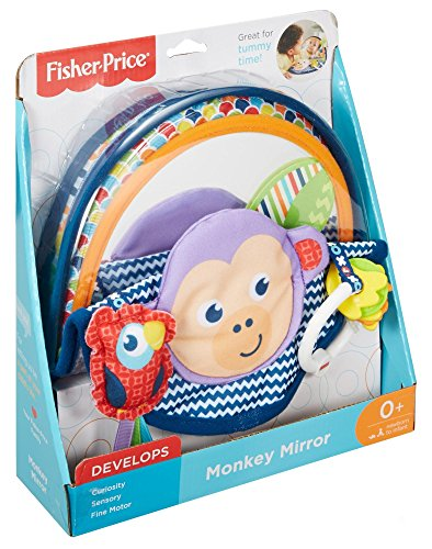 Fisher Price - Newborn Toys - Monkey Mirror