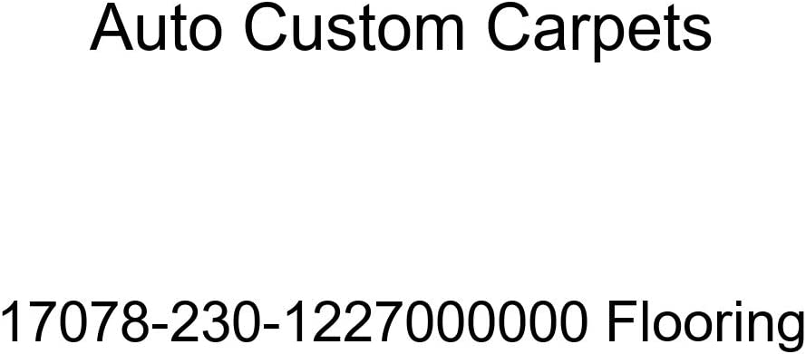 Now free shipping Auto Custom Carpets 17078-230-1227000000 Max 90% OFF Flooring