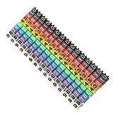 【𝐕𝐞𝐧𝐭𝐚 𝐑𝐞𝐠𝐚𝐥𝐨 𝐏𝐫𝐢𝐦𝐚𝒗𝐞𝐫𝐚】Tubo marcador de cable de mano de obra fina, Número de cable simple de plástico, Equipo(150PCS KCM-1.5MM 1.5 square)