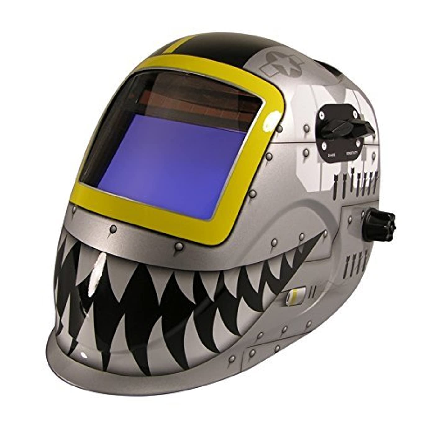 スリーブ有利エンディングArcOne 7000VX-1171 Python Welding Helmet with 7000VX Shade Master Filter Fighting Tiger [並行輸入品]
