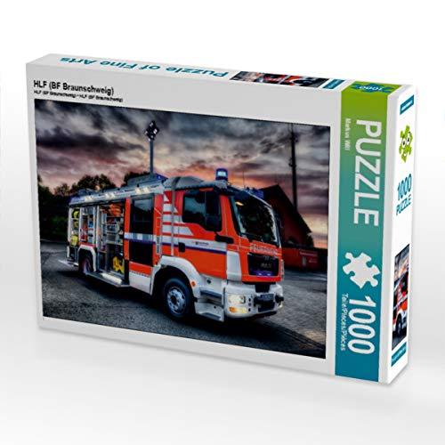 CALVENDO Puzzle HLF (BF Braunschweig) 1000 Teile Lege-Größe 64 x 48 cm Foto-Puzzle Bild von Markus Will