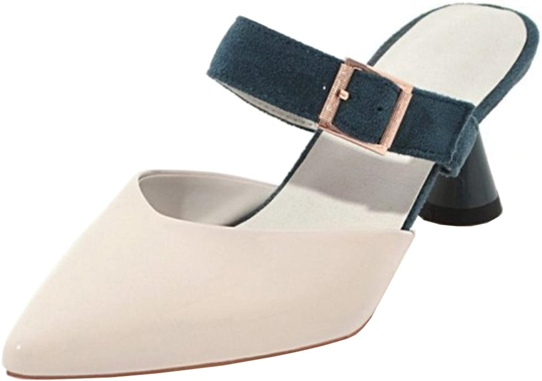 FANIMILA Women Slip On Sandals Fashion Mules