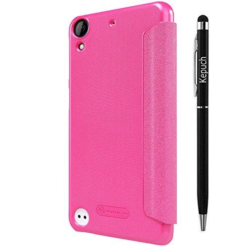 Kepuch HTC Desire 530 630 hülle hüllen - Smart PU Leder hülle hüllen tasche case cover für HTC Desire 530 630 - Rose