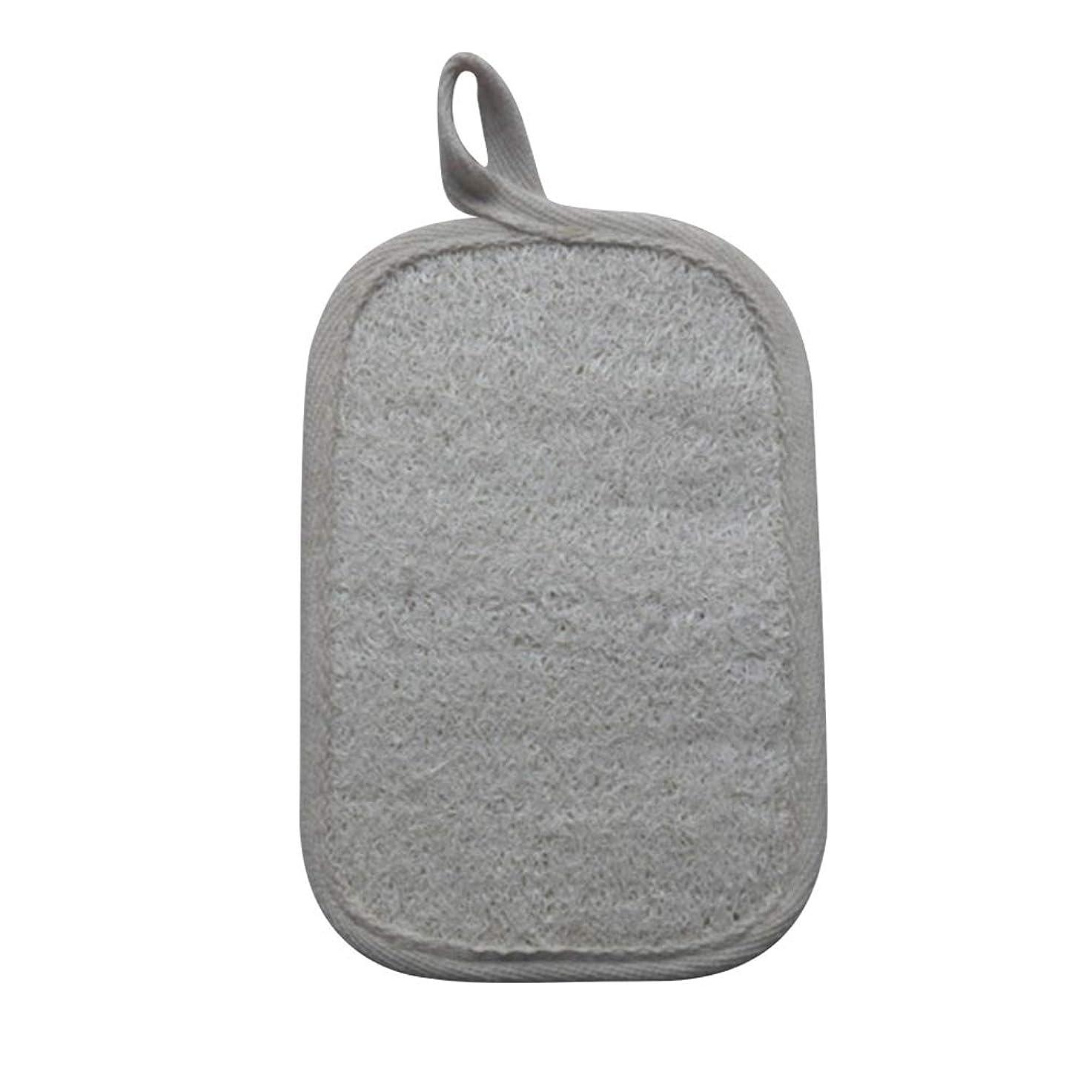 悲鳴モジュール安心させるHEALIFTY シャワーのための自然なLoofahのスポンジパッドの風呂の剥離Loofahのスポンジのスクラバー