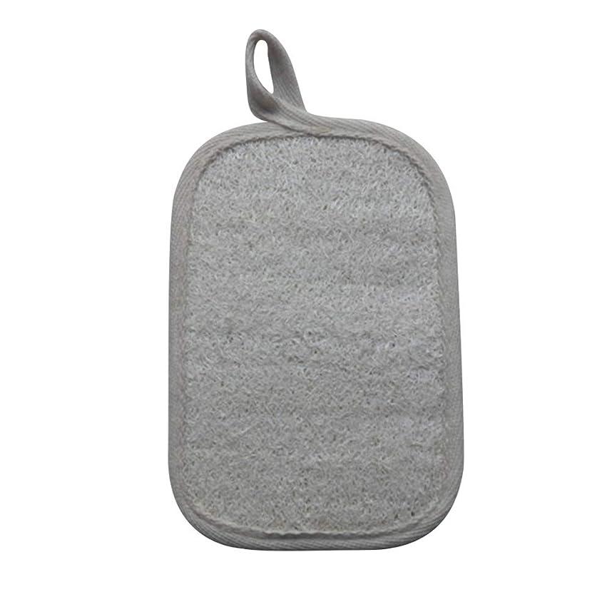 意味する第四酔っ払いHealifty シャワーのための自然なLoofahのスポンジパッドの風呂の剥離のスポンジのスクラバーのブラシ