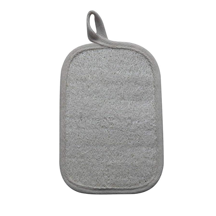 研磨遠近法アカウントHEALIFTY シャワーのための自然なLoofahのスポンジパッドの風呂の剥離Loofahのスポンジのスクラバー
