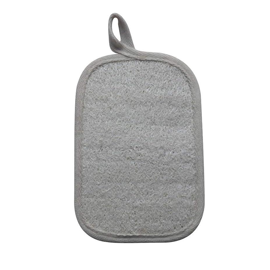 遠え雨の効率Healifty シャワーのための自然なLoofahのスポンジパッドの風呂の剥離のスポンジのスクラバーのブラシ