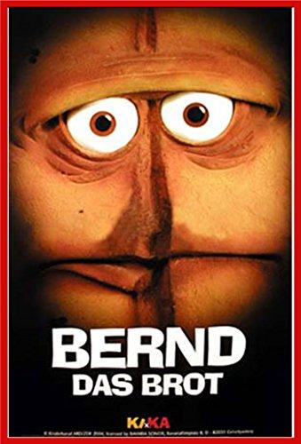 Empire Bernd das Brot Face Poster avec Accessoire