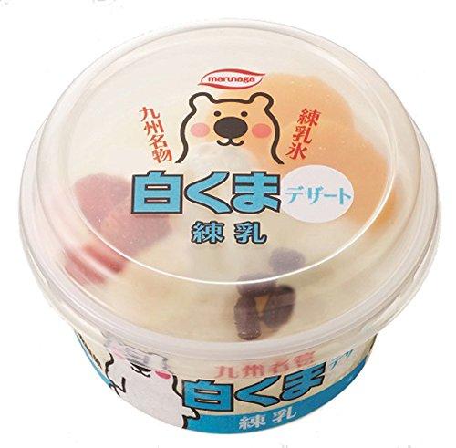 丸永製菓 白くまデザート練乳 190ml×16個入り
