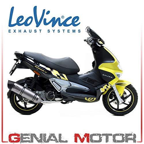 8541E Komplett Auspuff Leovince Lv One Evo Runner Vxr 200 2006 > 2008