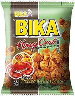 Bika Honey Crab Crackers, 70 G, Pack of 3