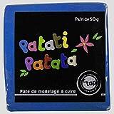 MegaCrea DIY Pâte polymère à Modeler Patati Patata Bleu Roi 50 g