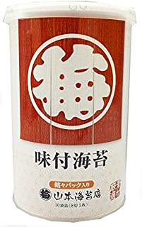 Yamamoto seaweed shop tabletop Meimei Ajizuke seaweed canned 10 bagged (8 off five)