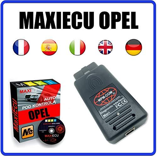 MISTER DIAGNOSTIC Diagnosegerät MPM-COM + MaxiECU 2 für Opel Fahrzeuge – Profi-Diagnose