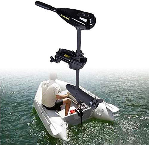 12V 58LBS Electric Outboard Trolling Motor Fishing Boat Outboard Motor Electric Brush Trolling Motor Dinghy Boat Engine -  ZHEDAN-US, OT-308