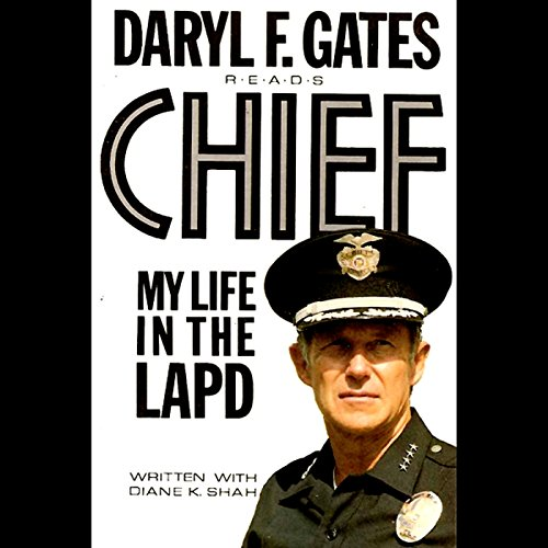 Chief audiobook cover art