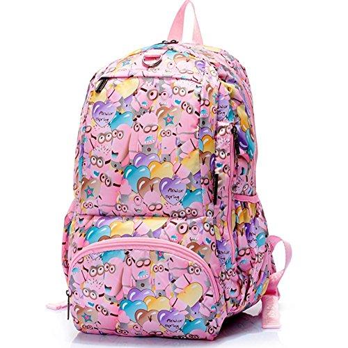 Sincere® Fashion Backpack / Zipper Sacs à dos / Rue mode / Multifonction / Mode schoolbag / loisirs sac à main / polyester sac imperméable à l'eau 9