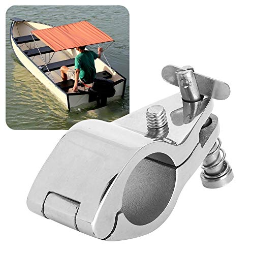 2Pcs 316 Stainless Steel Boat Hinged Upper Jaw Slide Marine Hardware Fittings Tip Style Marine Jaw Slide(30mm/1.18in)