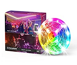 HomeMate® WiFi Multicolour Smart LED Kit, 5 Metre, Compatible with Alexa, Google home and IFTTT,HomeMate