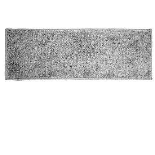 Global – Mini 25 x 70 cm. Alfombra mágica de microfibra, felpudo superabsorbente y antideslizante. Olivo.Shop (antracita)
