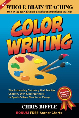 Compare Textbook Prices for Whole Brain Teaching: Color Writing  ISBN 9798472974356 by Biffle, Chris