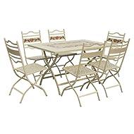 LeisureGrow Claremont Rectangular Folding Dining