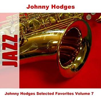 Johnny Hodges Selected Favorites Volume 7