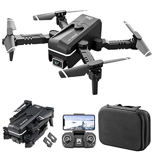 GoolRC KK1 Mini Drone for Kids and Adults, WiFi FPV Drone with 4K HD Camera, RC Quadcopter with for 360° Flip, Gesture Photo/Video, Track Flight, Altitude Hold, Headless Mode, Bag and 2 Batteries
