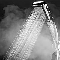 YWH-WH 節水 高水圧 強力 浴室のシャワー300個の穴高圧シャワーヘッド降雨節水フィルタースプレーノズル浴室のレインシャワーパネルヘッズ 取り付け簡単