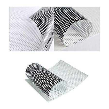 Folimac 8 50 M One Way Vision Folie Lochfolie Für Digitaldruck Sichtschutzfolie 100cm X 152cm Küche Haushalt